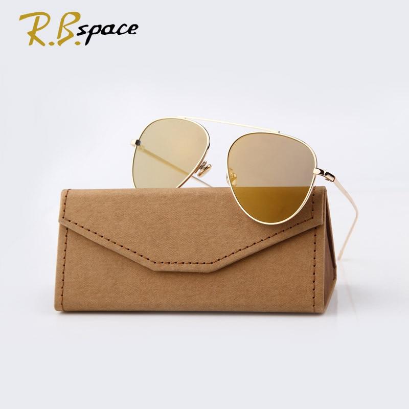 RBspace 2017 Pasang Baru merek Klasik kacamata fashion wanita - Aksesori pakaian - Foto 2