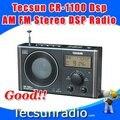 Varejo atacado Tecsun CR-1100dsp AM FM estéreo DSP rádio cr1100 frete grátis