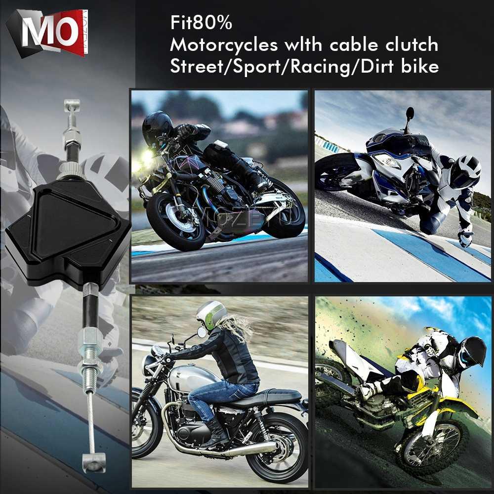 Мотоцикл с ЧПУ Алюминий трюк рычаг сцепления простая кабельная система для SUZUKI RM250 RM 250 1996-2008 1997 1998 1999 2000 2001