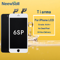 10PCS For TIANMA Quality Grade AAA For IPhone 6S Plus LCD Screen Replacment
