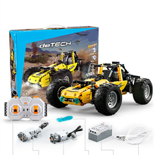 Technic  All-terrain Vehicle RC Super Sports Car Speed Champions Building Block Brick DIY Toys For Children Gifts