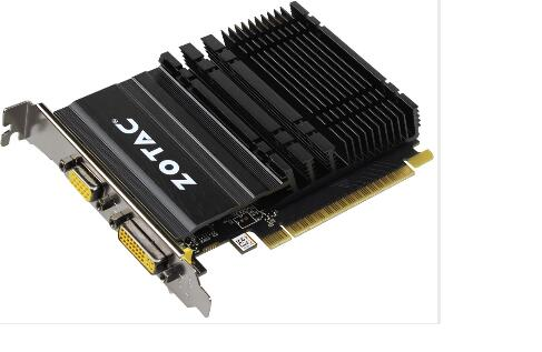 ФОТО New original for ZOTAC GT610-1GD3 Ice Armor VD 1G DDR3 128BIT independent desktop computer graphics card
