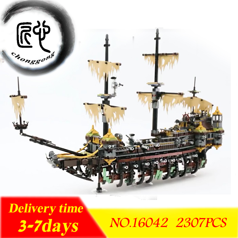 New Pirates Of The Caribbean Building Blocks Figures Model Bricks Compatible With Legoing 71042 education Toy new 1048pcs building blocks children lepins education toy baby gifts the spasskaya tower of moscow kremlin model building blocks