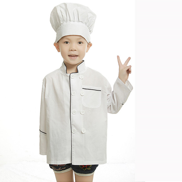 child chef costume for kids cook costumes uniform clothing halloween costumes for children chef coats chef  sc 1 st  AliExpress.com & child chef costume for kids cook costumes uniform clothing halloween ...