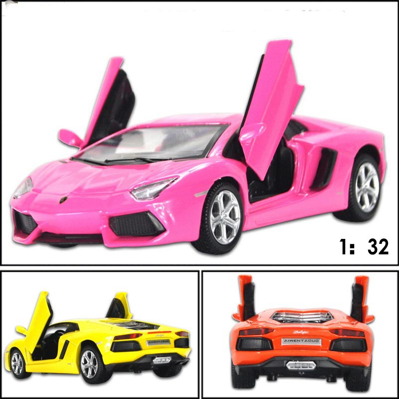 super cool kids diecasts toy vehicles 132 alloy sound light pull back classic car toy model children educational toy car in diecasts toy vehicles