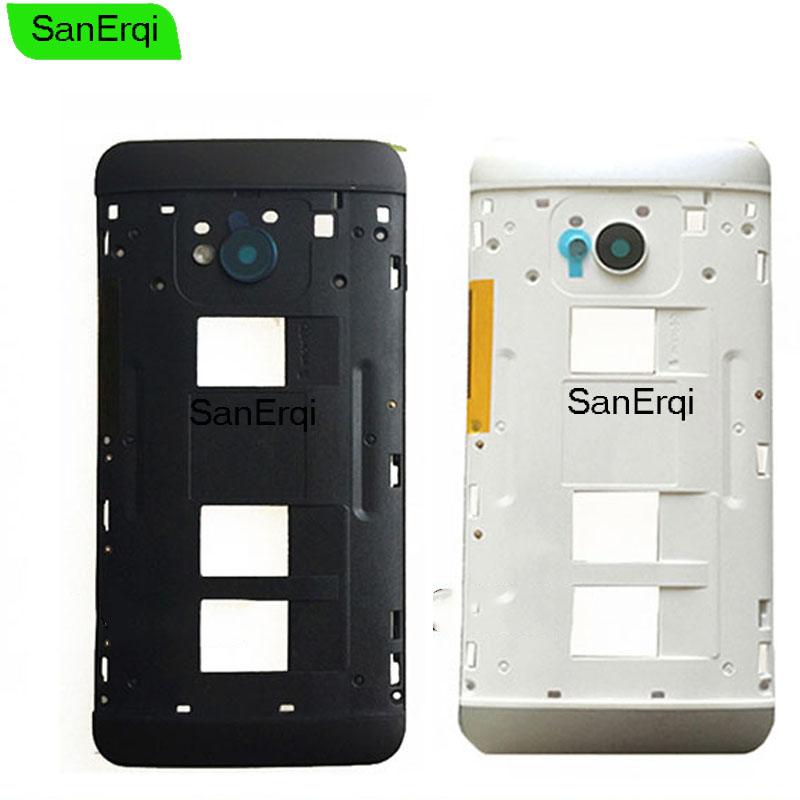 Middle Bezel Back Plate Housing For HTC One Dual Sim M7 ...
