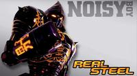 Noisy Boy In Real Steel 3 Size Silk Fabric Canvas Poster Print