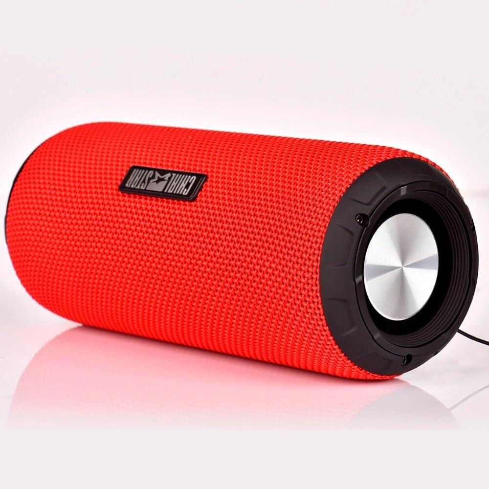 Altavoz inalámbrico portátil Rojo Impermeable IPX6 Al aire libre - Audio y video portátil - foto 2