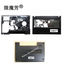 Новинка, передняя крышка для ноутбука Lenovo G500 G505 G510 G590, C крышка, Упор для рук, нижняя крышка корпуса ноутбука
