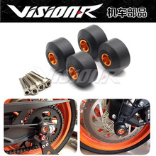 Motorcycle modified front and rear wheel stick anti-drop ball center cap for rims KTM duke200/390 m10 inch x2 15 inch shaft hole diameter 12mm motorcycle plating wind mill type modified front wheel rims for fuxi calves rsz