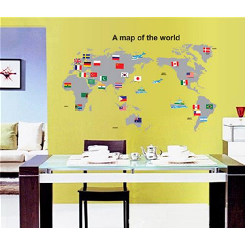 Exelent Decorative Wall Map Collection - All About Wallart ...