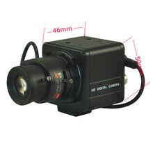 2.0MP 1080P HD-AHD/TVI/CVI 2.8~12/9~22MM Zoom Lens CCTV MINI BOX Camera