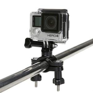 Крепление на руль велосипеда держатель штатива для Gopro Hero 8 7 6 5 3 4 Session SJCAM SJ4000 Xiaomi Yi 4K h9 камера