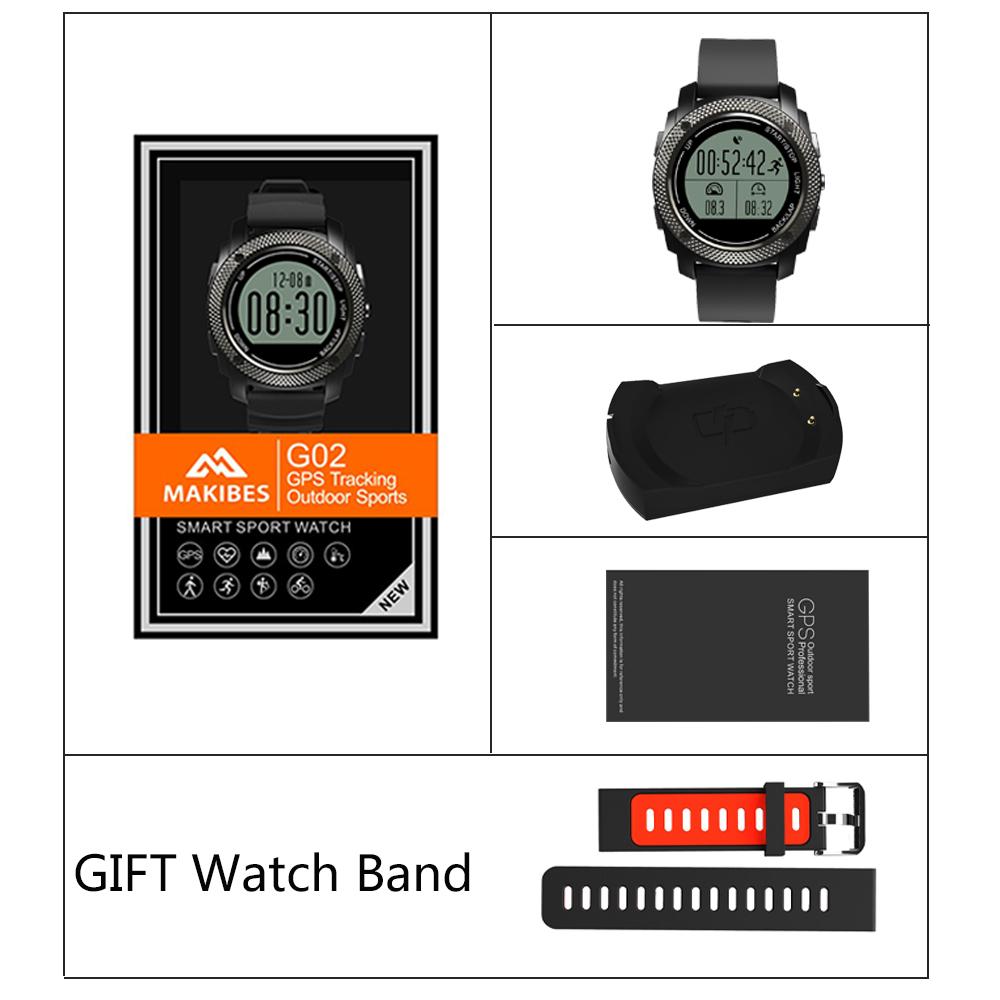 Makibes G02 Smart Watch-1