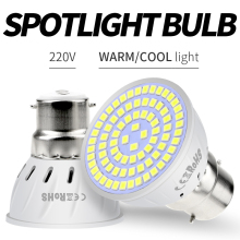 GU10 Led Lamp 220V Bombilla Led E27 Spotlight SMD2835 MR16 Led Corn Bulb 4W 6W 8W Spot Light E14 Home Ampoule Ceiling Light B22