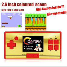 FCPOCKET Classic 8 bit Game Handheld Console, build-in 472 games, free 128 in 1 game cartridge, 2nd Player Controller Wholesale