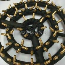 88 латунные форсунки газовая струйная горелка пропан/природный газ чугунная струйная горелка с инжектором Прямая от производителя
