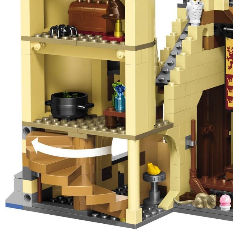 16060 модель замка из фильма, Волшебная модель замка, 6742 шт., строительные блоки, кирпичи, игрушки, детский подарок, совместимы с legoinglys city 71043 - 6
