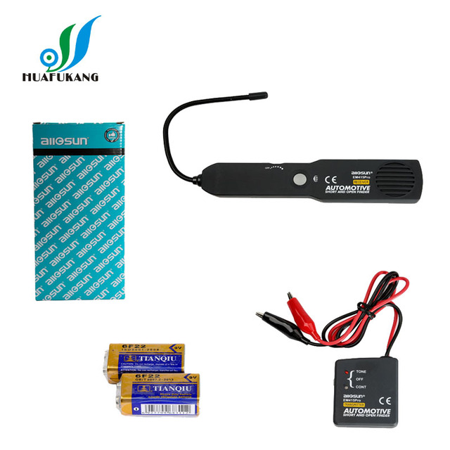 All Sun Em415pro Automotive Cable Wire Tracker Car Tracer Finder Test Short Open Dc