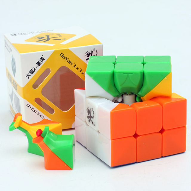 Promo Cheapest Magic Cube puzzle Dayan Guhong 2 V2 57mm 3x3x3 Cubing Speed  Puzzle Cubo Magico Kids Educational Toys 4