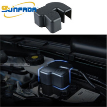 Flame Retardance ABS Battery Negative Protective/ Dustproof Cap/Cover For MAZDA 3 6 CX-4 CX-5 AXELA ATENZA 2014-2017 Car Styling
