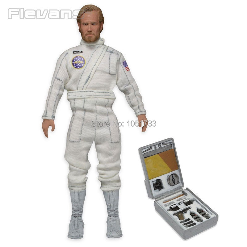 NECA Planet of the Apes George Taylor Clothed PVC Action Figure Collection Model Toy 8 20CM guano apes guano apes proud like a god 180 gr colour