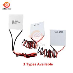 TEC1-12715 TEC1-12706 Термоэлектрически й  охладитель Пельтье квадратная охлаждающая подставка Холодильный радиатор в виде пластины модуль SP1848-27145