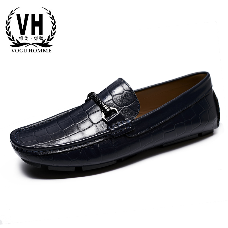 2017  winter British tide shoes pedal men's casual shoes men lazy peas all-match driving loafer 2017 new autumn winter men leather shoes casual all match british tide fashion shoes breathable sneaker shoes