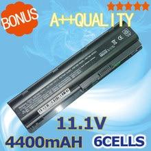 4400 mah batería para hp pavilion g6 dm4 dv3 dv5 dv6 dv7 G4 G7 635 Compaq Presario CQ72 CQ42 MU09 MU06 593553-001 593554-001