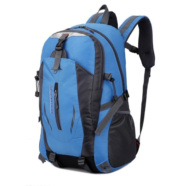 2018 Hot Sale Climbing Bags Nylon Black Backpack Waterproof Men s Back Pack  Laptop High Quality Designer Backpacks XNC 5f3d8973f751a