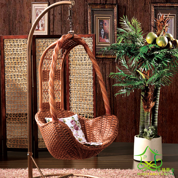 Cheap Wicker Chair: Direct Cheap Rattan Basket Wicker Chair Swing Hanging Cane