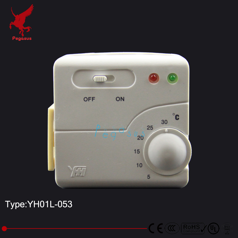 YH01L053 Plug type temperature controller Floor heating thermostat heating film heating wire thermostat
