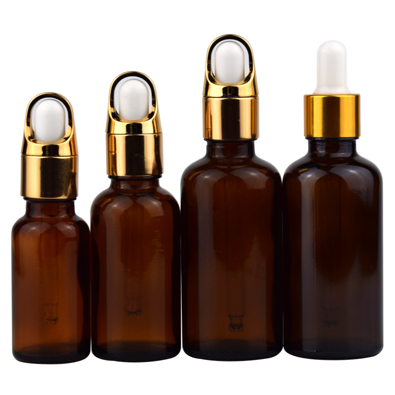 50pcs empty packing Essential Oil Bottles 30 ml Glass Bottle with Dropper Makeup Container Lotion Jar Cosmetic Tubes Em цена