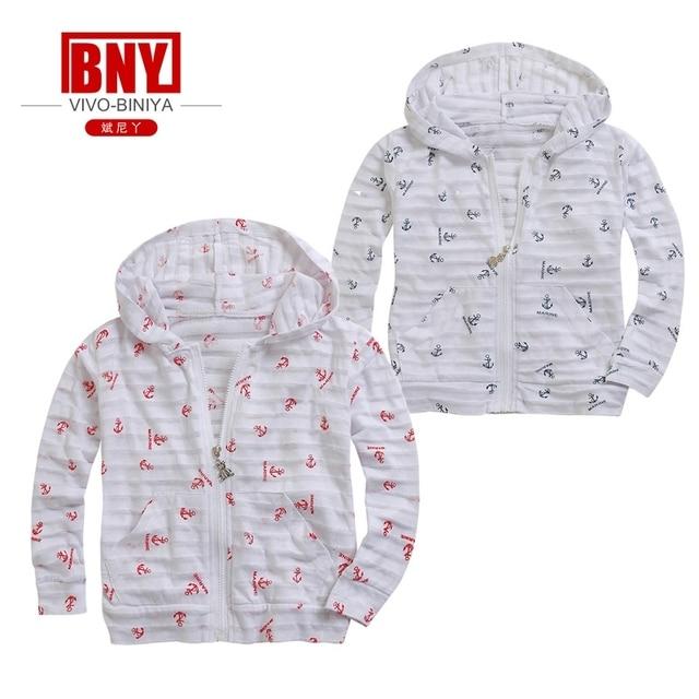d72ada4169083 child's hoody one piece long sleeve cotton print sunscreen coat bench cloth  Rash Guard UV Sun