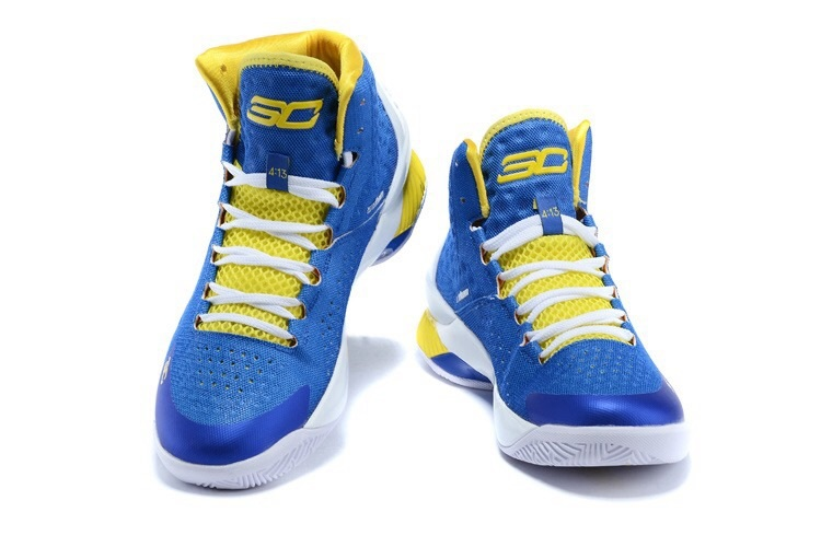 fb1073af7ba5 Stephen Curry 1 One basketball shoes Christmas White Blue Yellow Home Dark  Matter Charged Foam MVP home Surprise Party-in Basketball Shoes from Sports  ...