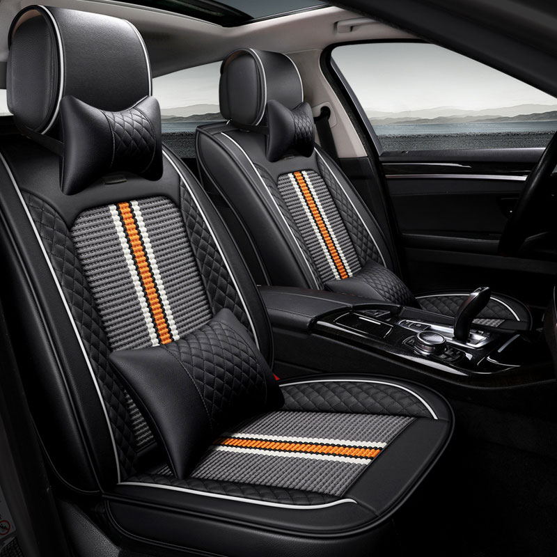 New car seat cover auto seat protector mat for benz mercedes c180 c200 gl x164 ml w164 ml320 w163 w461 w463 x204 car accessories