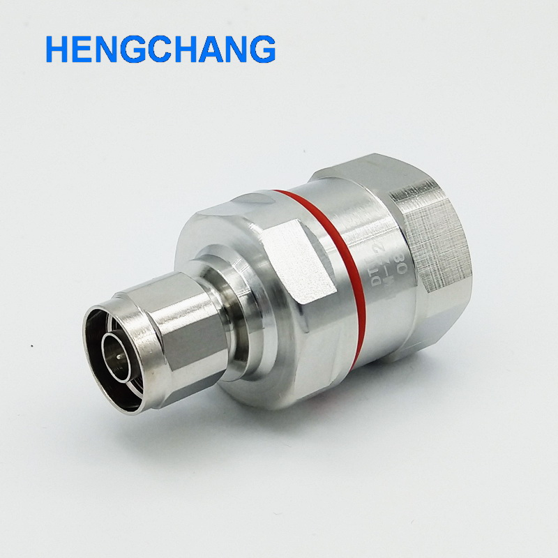 Copper L16 N Type Coaxial Connector For 50-22 7/8 Feeder Cable N Type Male Coaxial Connector 1pcs