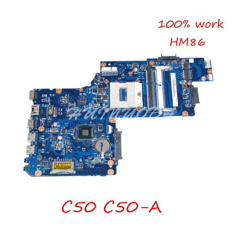 NOKOTION PT10S UMA MB MAIN BOARD For Toshiba Satellite C50 C50-A Laptop Motherboard H000063020 H000063030 H000064260 HM86 DDR3LNOKOTION PT10S UMA MB MAIN BOARD For Toshiba Satellite C50 C50-A Laptop Motherboard H000063020 H000063030 H000064260 HM86 DDR3L