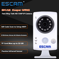 ESCAM Keeper QF502 Wifi Mini Household IP Camera 1.0MP HD 720P Onvif P2P indoor Surveillance Night Vision Security CCTV Camera