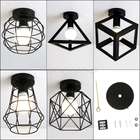 Vintage Ceiling Lights lampshade Corridor Entrance Balcony Living Room Lights O31 dropship