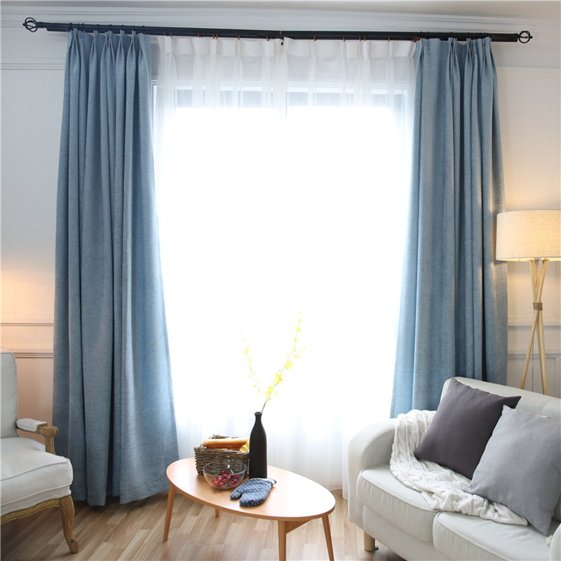 Custom Made Solid Colors Blackout Curtains For The Bedroom