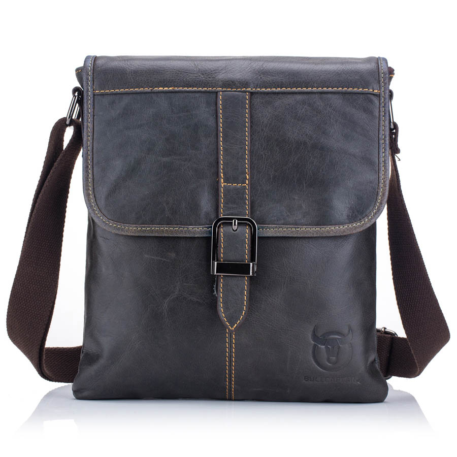 Genuine Leather Casual&Business Shoulder Crossbody Bags Mens Messenger Bag Male Cowhide Zipper Flap Pack For Ipad TabletGenuine Leather Casual&Business Shoulder Crossbody Bags Mens Messenger Bag Male Cowhide Zipper Flap Pack For Ipad Tablet