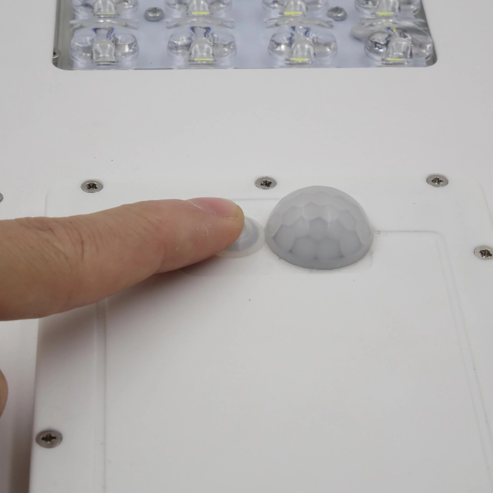 Alpha 2020X Outdoor Waterproof Motion Sensor Solar Powered LED Pole Wall Street Path Light For Garden 3 Working Modes - 6