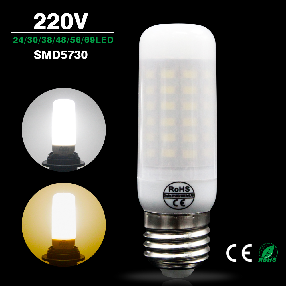 Online buy wholesale e27 led lampen from china e27 led lampen lamparas led bulb e27 bombillas led e14 220v smd 5730 ampolletas led high power milky cover parisarafo Images