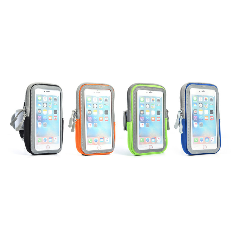 Running Sports 4.7 inch Mobile phone Armband for iPhone7 Outdoor Activities Touch Screen Wrist Storage Bag for iPhone6 iPhone7