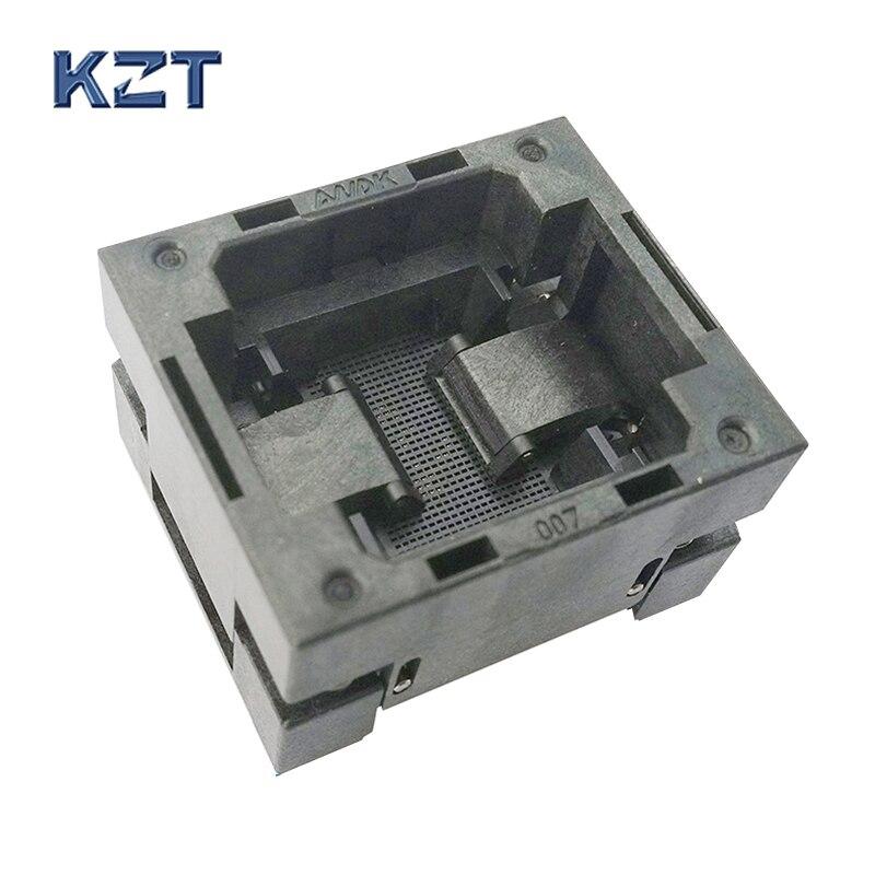 eMMC153/169 Reader Test Socket IC Body Size 12x16mm Pitch 0.5mm BGA153 BGA169 Burn in Socket Adapter Flash Data Recovery