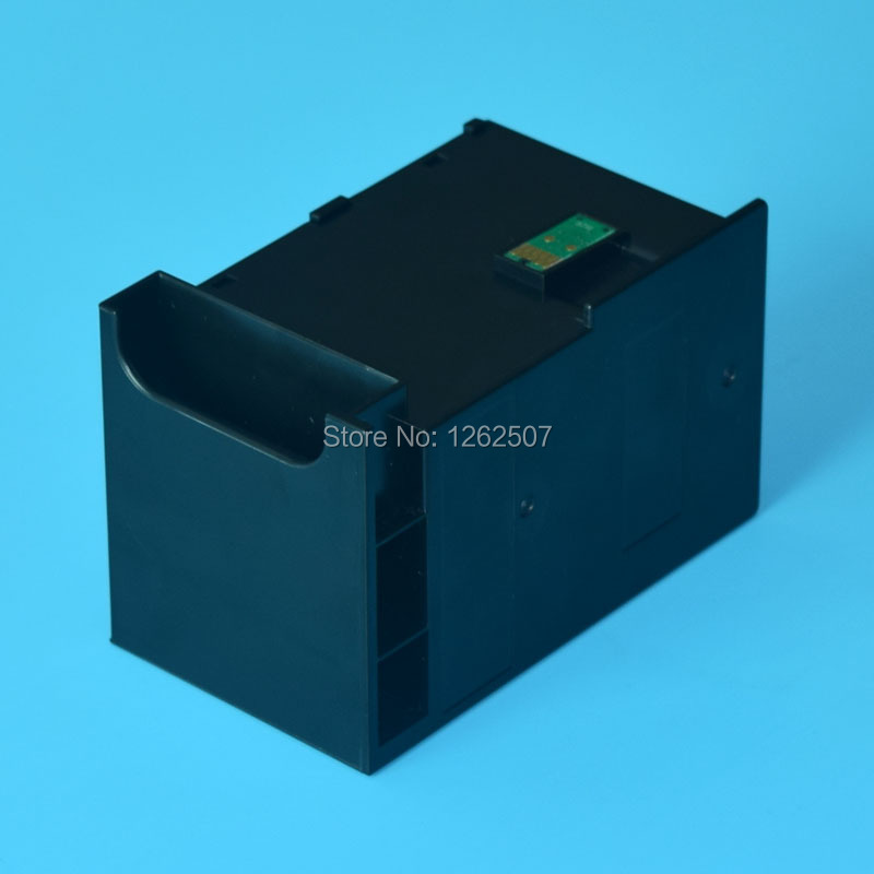 6711 T6711 Maintenance box For Epson WF-3620 WF-3640 WF-7110 WF-7610 WF-7620 WF-7710 WF-7715 WF-7720 WF-3450 3530 3010 et-16500 картридж epson c13t27114020 для wf 3620 3640 7110 7610 7620 черный