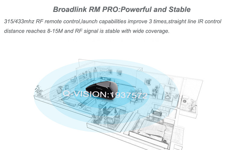 10-Broadlink RM2 RM PRO Universal Smart Wifi Remote IR RF + A1 E-Air Quality Detector Infrared Home Automation kit Sensor Smart App