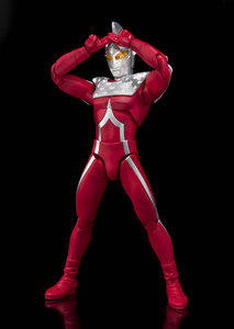 Image 2 - Japan Anime Originele Bandai Tamashii Naties Ultra Act UltraMan Action Figure Zeven 2.0