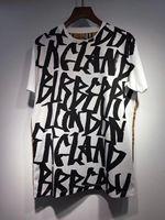Graffiti Letters Printed Plaid Woman Tee Shirt 2018 Spring Summer Fashion Cotton T Shirt Short Sleeve